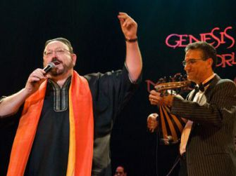 In the Beginning: Genesis at the Crossroads performed in Casablanca, Morocco, in December 2007.