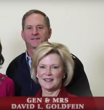 Gen. David Goldfein with his wife, Dawn.