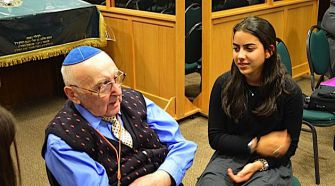 Survival Story: Sol Goldberg, 88, spent two years in the Lodz ghetto before he was shipped to Auschwitz.