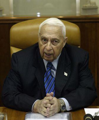 Bold: Ariel Sharon ordered the unprecedented settler evacuation.