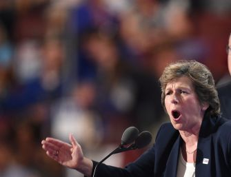 Voice of Jewish Aspiration: Randi Weingarten speaks out in 2016.