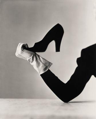Glove and Shoe, New York, 1947