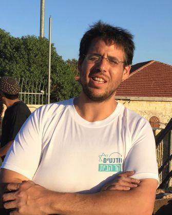 Student activist Haim Brosh.