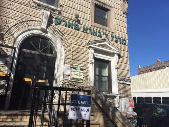 At a polling station in Borough Park, Jews explained why they supported Trump.