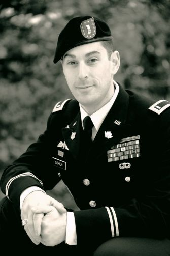 Rabbi Michael Cohen, US Army Chaplain, Captain