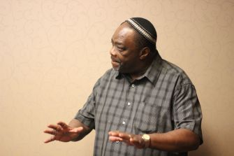 Rabbi Capers Funnye is the spiritual leader of Beth Shalom Bnai Zaken Ethiopian Hebrew Congregation in Chicago.