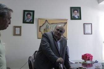 Dr. Siamak Moreh Sedgh, the Jewish community's elected representative in Iran's parliament