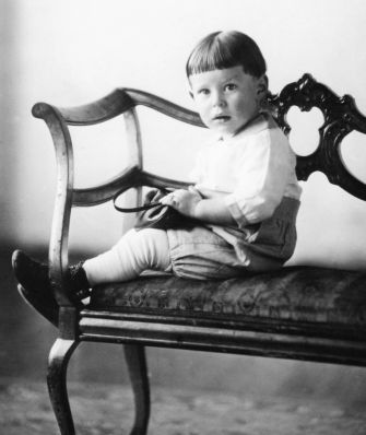 The Child Is Father of the Man: Sam, at age 1 in 1924.