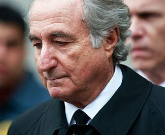 Banished: Even before his jail sentence, Madoff had been exiled from this world.
