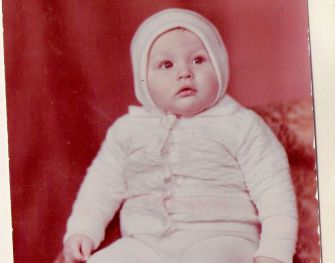 The author as a baby in Russia, probably not contemplating being an American Jew.