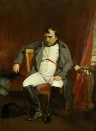 Napoleon I At Fontainebleau, 31 March, 1814 - Paul Delaroche