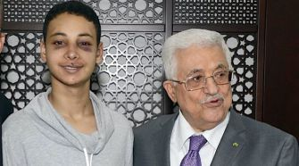 Fellows: Tariq Abu Khdeir and Mahmoud Abbas.