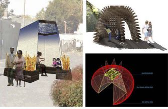 Not Your Ancestors' Sukkah: Among this year's finalists were designs by Friedman-Bruggemeyer Design Build; a team of Berkeley architecture students; and the Eugene-based team of Yulia Dimitrova-Ilieva and Petar Iliev, who based their design on a pomegranate.