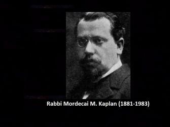 Rabbi Mordecai Kaplam.