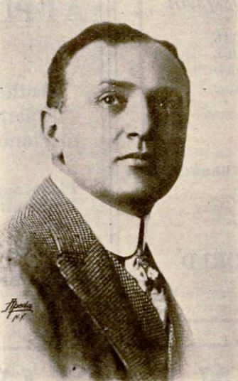 """Samuel """"Roxy"""" Rothafel, pictured in 1919's """"Moving Picture World."""""""