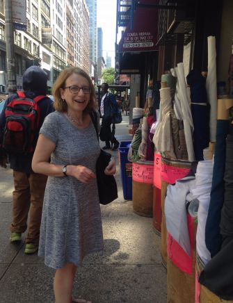 Roz Chast in Chelsea.