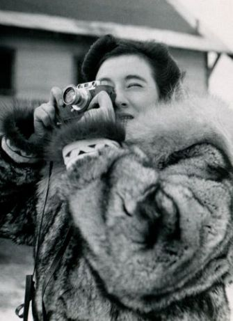 Witness: Ruth Gruber in Alaska 1941, documenting the moment with her Leica.