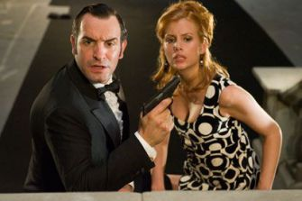 Dangerous Liaisons: Jean Dujardin and Louise Monot play a French secret agent and a member of the Mossad, respectively.