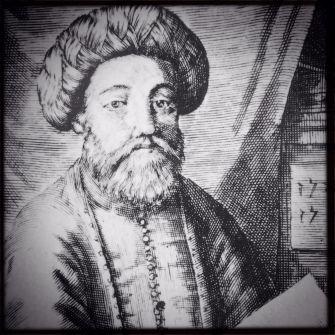 A contemporary portrait of Sabbatai Zevi.