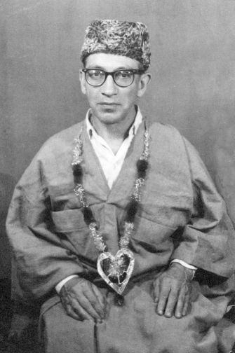 """Samuel Lewis, known as """"Sufi Sam,"""" was raised in a Jewish home before embracing Sufi Islam."""