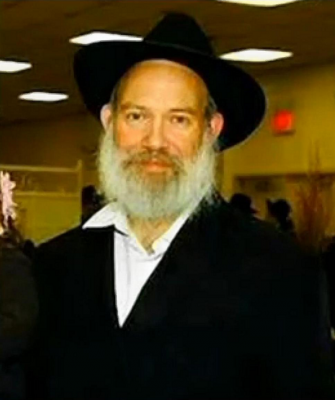 Brooklyn Rabbi Joseph Raksin.