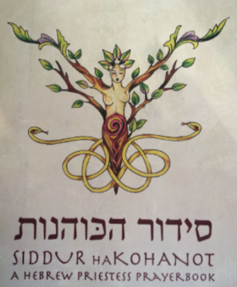 "The cover of the Kohenet Institute siddur features a depiction of the ""feminine divine,"" the group said."
