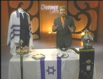 Ralph Messer, a Messianic-style teacher, gives his own Passover explanation for Christians on his television program
