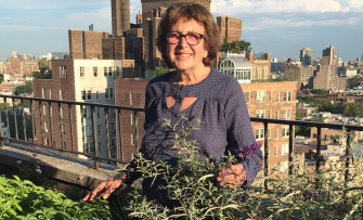 In Her Garden: Author Susan Brownmiller