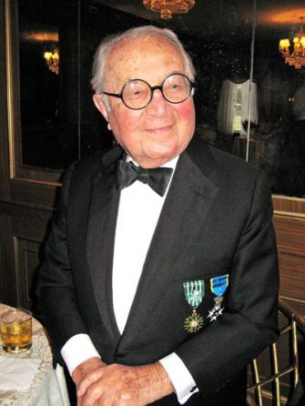 Honoree: Martin Segal spoke at the event.