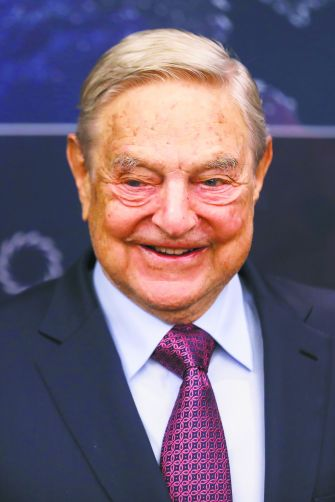 Hailed, Then Condemned: Soros, who funded early human rights initiatives in the Soviet bloc, founded a prestigious university in Budapest now in danger of being closed down by Orbán government legislation.