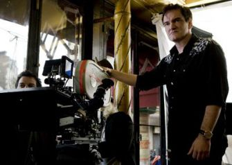 Reshooting History: Tarantino in fantasy-occupied filming.
