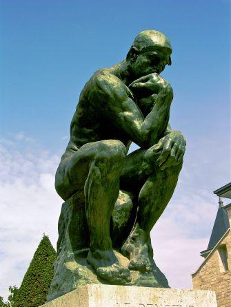 "Rodin's ""The Thinker"" at Paris's Musée Rodin."