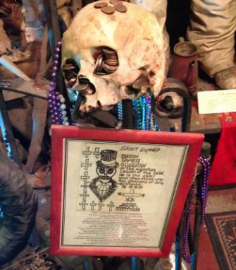 Inside the New Orleans Historic Voodoo Museum