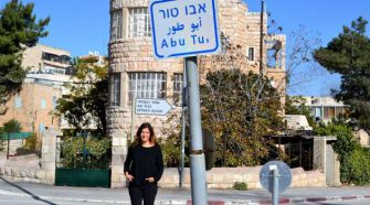 Welcome to the Neighborhood: Forward correspondent Naomi Zeveloff in Abu Tor, Jerusalem.
