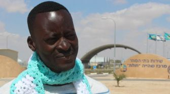Like other African refugees, Mutasim Ali hopes the Seder will raise awareness about their plight.