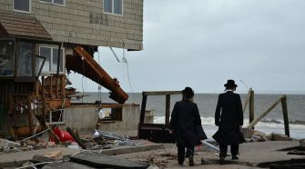 ?No One Knows? Residents of Sea Gate were asking why the media ignored widespread devastation in the oceanfront Brooklyn community.