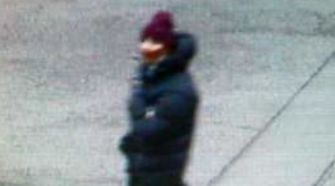 Police released this image of the suspected Copenhagen arts center shooter captured on a surveillance video.