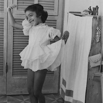 Born To Dance: Ze'eva Cohen as a child in Israel.