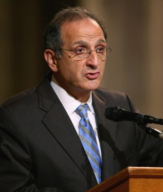 James Zogby, president of the Arab American Institute and one of Sanders' choices for the platform committee.