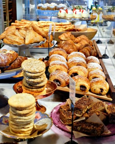 A selection of some of the pastries offered at the Sidewalk Citizen Bakery.