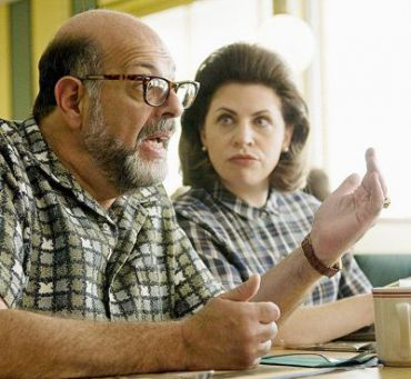 Fred Melamed (left) stars as Sy Ableman in the Coen Brothers ?A Serious Man.?