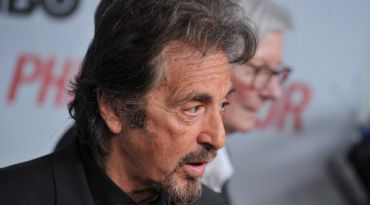 Spectral Vision: Al Pacino plays the title character in David Mamet?s HBO film ?Phil Spector.?