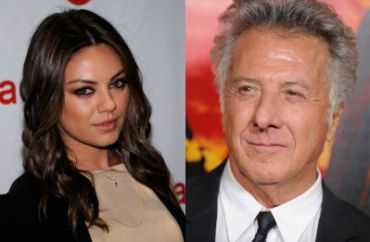 First Responders: Mila Kunis and Dustin Hoffman
