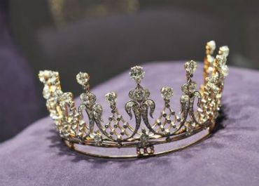 This tiara sold for $4.2 million.