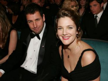 Sandler and Barrymore at the 31st Annual People?s Choice Awards in 2005
