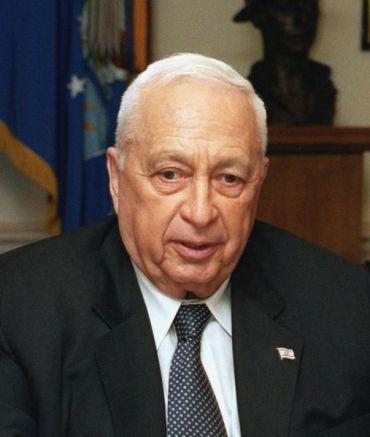 Prime Minister Ariel Sharon in 2002. Helene C. Stikkel/Wiki Commons