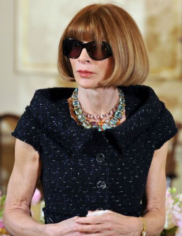 Vogue Editor in Chief Anna Wintour