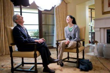 Steinberg with Sarah Silverman