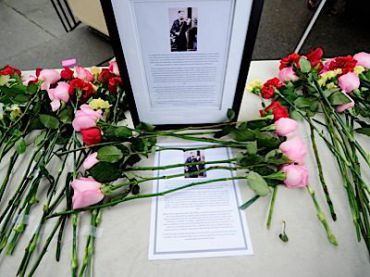 A memorial to Tyler Clementi