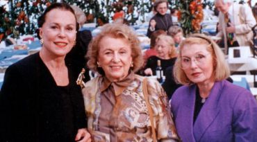Bess Myerson, Bel Kaufman and Masha Leon